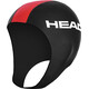 HEAD Neoprene Swim Cap Black/Red